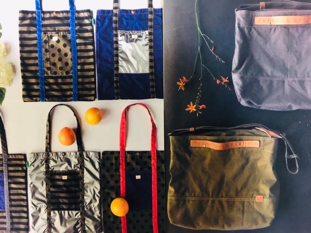 bambikaban-布と皮のバッグ・小物ー